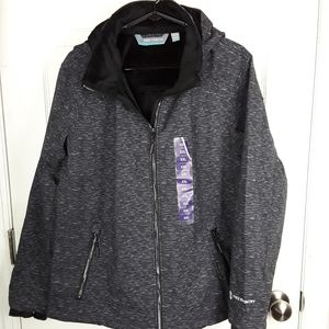 Free Country Womens Hooded Jacket XXL NWT